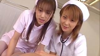 Asian nurses flesh out up to pleasure a unwitting patient - Naho Ozawa
