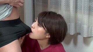 Japanese amateur Aragaki Chie moans via passionate fucking