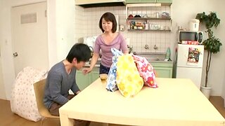 Small boobs Japanese chick Chieko Oomura knows however to pleasure a dick