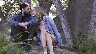 Video of erotic coition with slender day Haley Reed
