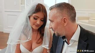 Stepdad fucks strife = 'wife' stepdaughter Adria Rae in anus and deep throat